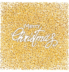 gold and white Christmas background vector image vector image