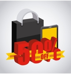 low prices vector image