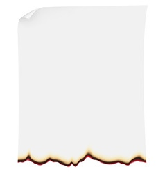 searing paper vector image
