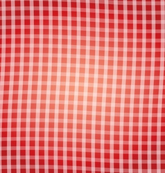 Red tartan pattern background vector image