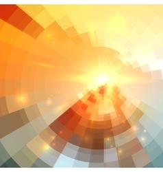 Abstract circle technology background vector