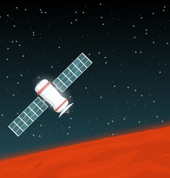 Mission on Mars vector image vector image