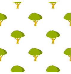 Tree pattern flat vector