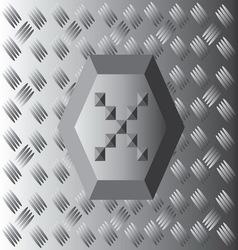 X text aluminium wallpaper vector