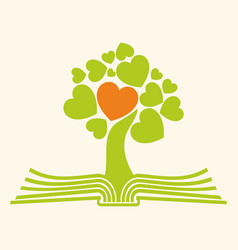 biblical tree vector image