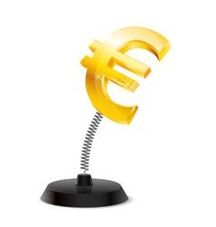 Euro souvenir vector