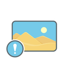 Alert image photo photography picture icon vector