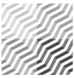 line tile seamless black background vector image vector image