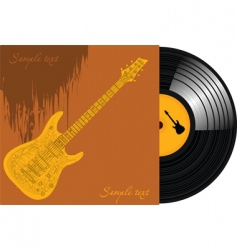 record vinyl vector image vector image