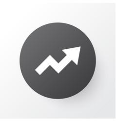 trend icon symbol premium quality isolated vector image