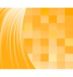 Warm sunny tiles vector