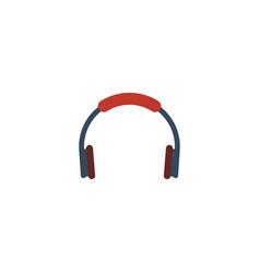Flat icon bluetooth headphone element vector