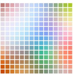 Rainbow colors rounded mosaic background over vector