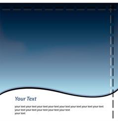 Simple Headline vector image vector image