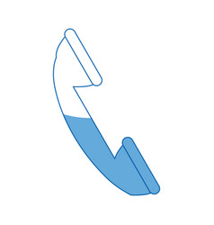 Telephone call communication talk service vector