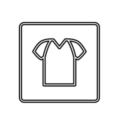 Tshirt basic wear vector image