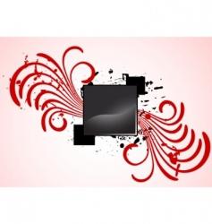vector spiral design vector image vector image