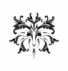 an flower vector image
