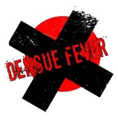 Dengue fever rubber stamp vector
