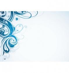 Swirl border vector