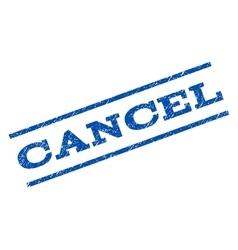 Cancel watermark stamp vector
