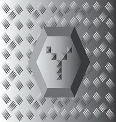 Y text aluminium wallpaper vector