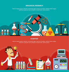 Biological science concept vector