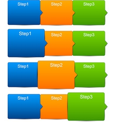 Step templates vector