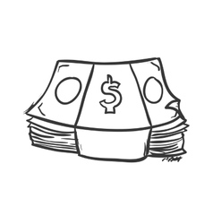Bills icon money design graphic vector