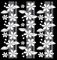 Flower pattern image vector