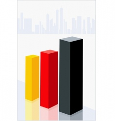 graphical blocks vector image vector image