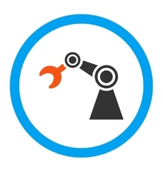 Manipulator rounded icon vector