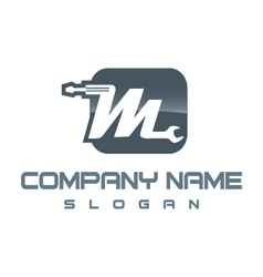 Mechanic logo vector