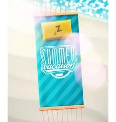 Summer Vacation vector image vector image