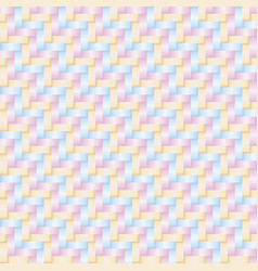 Thai style pattern pastel color vector