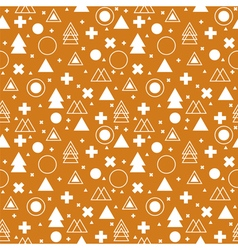 Tribal background ethnic geometric seamless vector