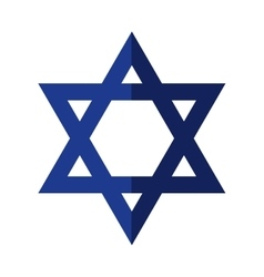 Star icon israel culture design graphic vector