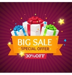 Sale Label Background vector image vector image