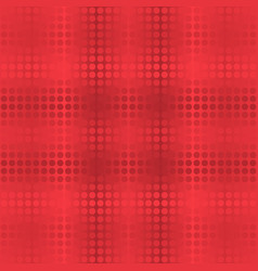 abstract dot seamless background in red tones vector image