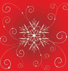 Floral christmas vector