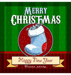 Design christmas card vector