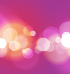 Abstract bokeh light purple background vector