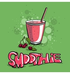 Smoothie vector image vector image