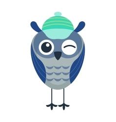 Cartoon owl isolated vector image vector image