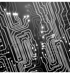 Circuit board Technology background vector image vector image