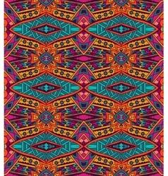 Festive peruvian geometric seamless pattern vector
