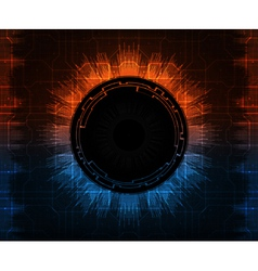 futuristic background vector image vector image