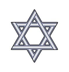 Star icon israel culture design graphic vector