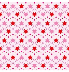 Star seamless texture vector image vector image