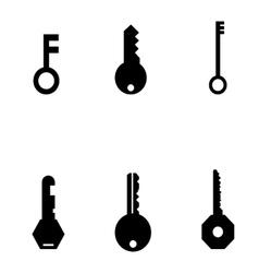 Keys set vector